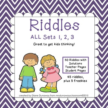 RIDDLES Bundled Set