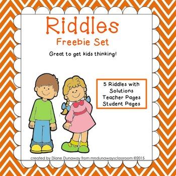 RIDDLES: Freebie Set