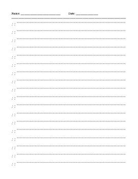 RIGGS Clock Face Practice Sheet