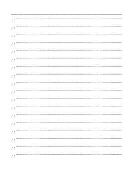 RIGGS Clock Face Circle Stroke Practice Sheet