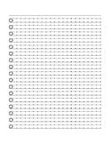 RIGGS Stroke 2 (w/ dots) Practice Paper