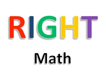 RIGHT Math Posters