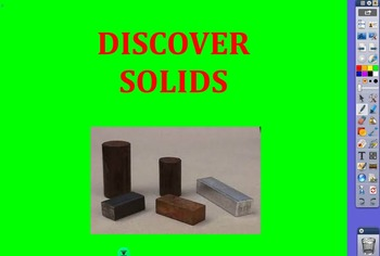 RIGOR Reading Invervention Level 1-Unit 1- Solids flip chart