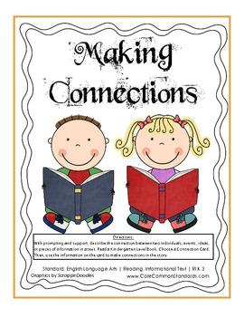 RI.K.3 Kindergarten Common Core Worksheets, Activity, and Poster