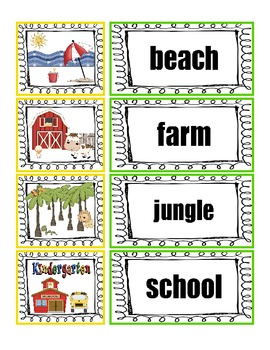 RI.K.7 Kindergarten Common Core Worksheets, Activity, and Poster