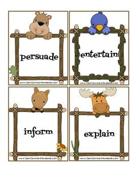 RI.K.8 Kindergarten Common Core Worksheets, Activity, and Poster