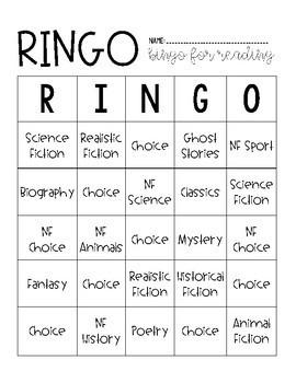 RINGO (Reading BINGO)