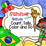 RIO 2016  Games *Color, Count, Tally & Do- Instant and Interactive Math