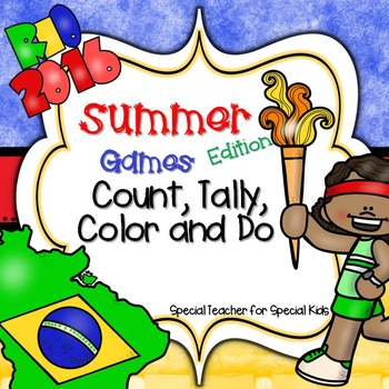 RIO 2016  Games *Color, Count, Tally & Do- Instant and Int