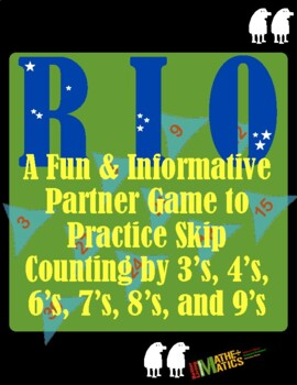 Multiplication Game to Practice Skip Counting Skills