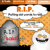 R.I.P.  A Word Choice Activity