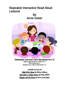 RIRA Repeated Interactive Read Alouds Set 3