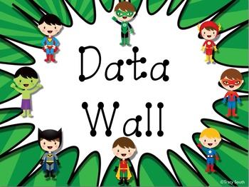 RISE Data Wall - Superheroes Theme