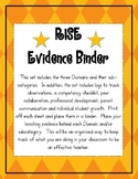 RISE Evidence Binder for Indiana Teachers