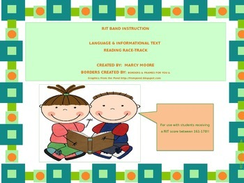 RIT Band Instruction: Differentiation ~ Literature & Informational Text(161-170)