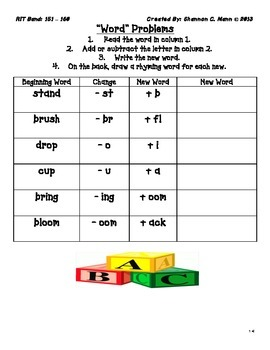 RIT Band Instruction: Differentiation Menu for Foundational Skills (151-160)