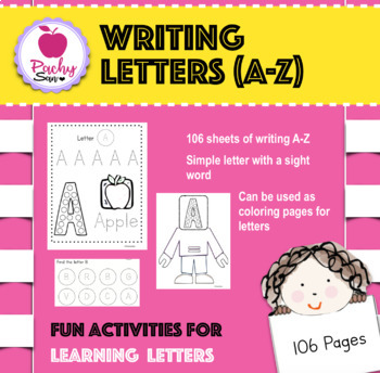 Writing Alphabets/Letters A-Z
