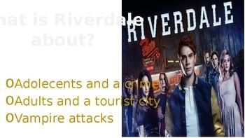 RIVERDALE powerpoint presentation episode 1x01