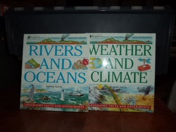 RIVERS AND OCEANS WEATHER AND CLIMATE  (SET OF 2)