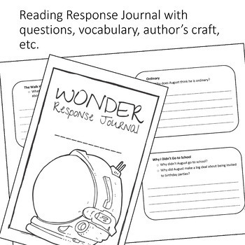 Wonder by R.J. Palacio: A Teacher Guide (Includes Differentiated Content)