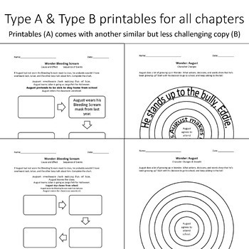 Wonder by R.J. Palacio: A Teacher Guide (Includes Differentiated Content) Bundle