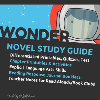 Wonder by R.J. Palacio: A Teacher Guide (Includes Differen