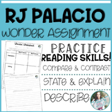 RJ Palacio Wonder Assignment