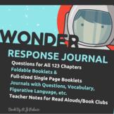 Wonder Reading Response Journal