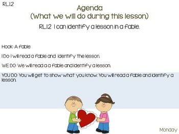 RL.1.2 Teaching Central Message