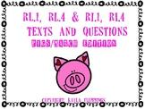 RL.1 RL.4 RL.1 RL.4 Pigs texts and questions