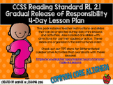 RL2.1 Asking & Answering Questions Gradual Release 4-Day L