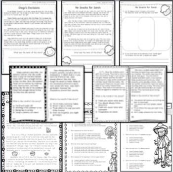 Morals & Lessons RL 2.2 RL 3.2  BUNDLE - 9 Products