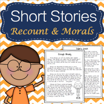 RL 2.2 & RL 3.2 Short Stories w/ Morals or Lessons