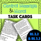 RL 2.2  RL 3.2  Task Cards- Short Stories w/ Morals