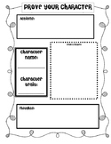 RL 2.3: Character Traits Organizer