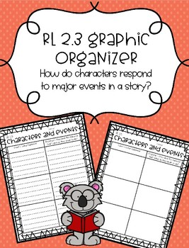 RL 2.3 Graphic Organizer - Characters and Events