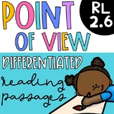 RL 2.6  Point of View - Differentiated Reading Passages
