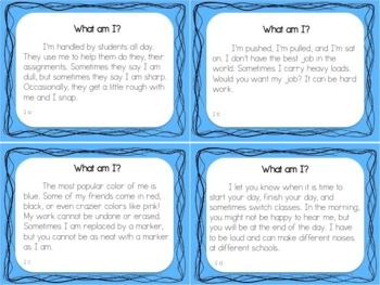 RL 2.6 Point of View - Small Group Task Cards
