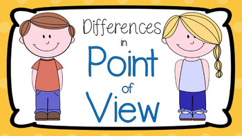 RL 2.6 PowerPoint: Differences in Point of View