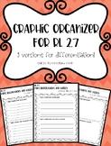 RL 2.7 Graphic Organizer - Illustrations vs. Text