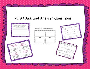 RL 3.1 Ask and Answer Questions