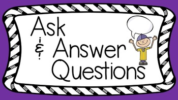 RL 3.1 PowerPoint: Ask and Answer Questions in Literature