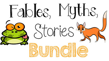 RL 3.2 Fables, Myths, Stories Bundle