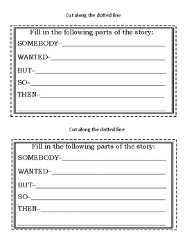 RL.3.2 Recounting Stories Mini Book! PERFECT for Independent Work Time