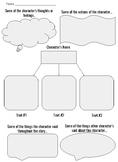 RL 3.3 - Character Analysis Graphic Organizer