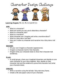 RL 3.3 Character Design Challenge