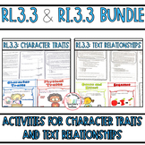 Standards Based Reading Bundle Character Traits and Text Relationships