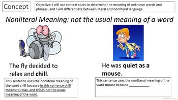RL 3.4 PowerPoint: Literal and Nonliteral Language
