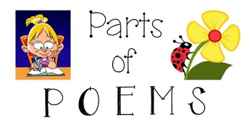 RL 3.5 & 4.5 PowerPoint: Parts of a Poem