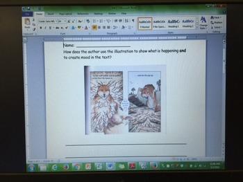 RL 3.7 Using Illustrations as a Reader - ActivInspire flipchart